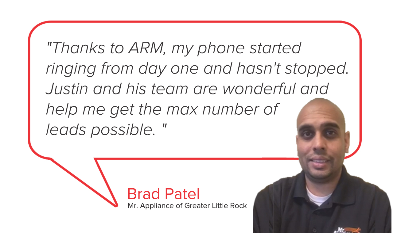 Mr. Appliance of Greater Little Rock | Brad Patel Testimonial